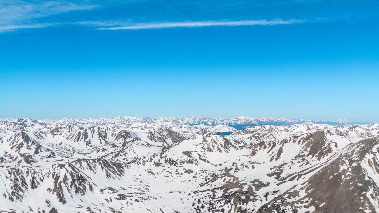 天山山脈の画像